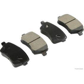 Bremsbelagsatz, Scheibenbremse Breite 1: 116,5mm, Höhe 1: 52,2mm, Dicke/Stärke 1: 17,3mm mit OEM-Nummer 41060-8481R