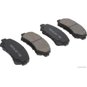Brake Pad Set, disc brake J3601098 Qashqai / Qashqai +2 I (J10, NJ10) 1.5 dCi MY 2011