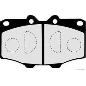 Bremsbelagsatz, Scheibenbremse Breite 1: 66,1mm, Dicke/Stärke 1: 15,5mm mit OEM-Nummer 0446560010