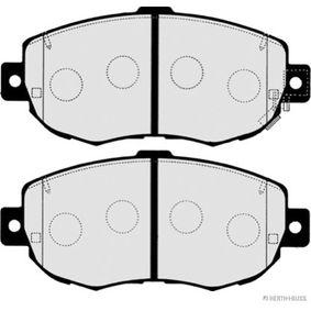 Bremsbelagsatz, Scheibenbremse Breite 2: 63,8mm, Dicke/Stärke 2: 17mm mit OEM-Nummer 04465-22311