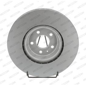 Bremsscheibe Bremsscheibendicke: 34mm, Lochanzahl: 5, Ø: 349mm mit OEM-Nummer 4M0 615 301 AB