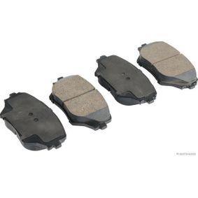 Bremsbelagsatz, Scheibenbremse Breite 2: 60,5mm, Dicke/Stärke 2: 17,5mm mit OEM-Nummer 04465 42 130