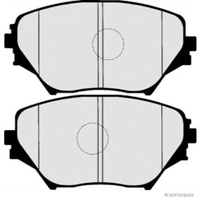 Brake Pad Set, disc brake J3602092 RAV 4 II (CLA2_, XA2_, ZCA2_, ACA2_) 2.0 D 4WD (CLA20_, CLA21_) MY 2001