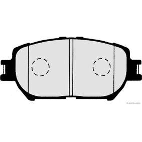 Bremsbelagsatz, Scheibenbremse Breite 1: 54,5mm, Dicke/Stärke 1: 17mm mit OEM-Nummer 04465YZZDZ