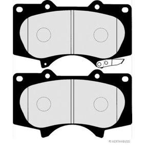 Bremsbelagsatz, Scheibenbremse Breite 2: 76,7mm, Dicke/Stärke 2: 17mm mit OEM-Nummer 0446535290