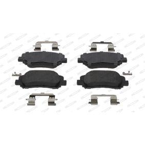 Bremsbelagsatz, Scheibenbremse Höhe 1: 60,9mm, Dicke/Stärke: 21mm mit OEM-Nummer 68225170AA
