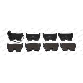 FERODO  FDB5023 Kit de plaquettes de frein, frein à disque Hauteur 1: 74,4mm, Épaisseur: 16,7mm