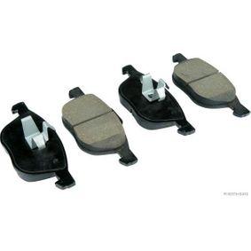 Bremsbelagsatz, Scheibenbremse Breite 1: 62,4mm, Breite 2: 67mm, Dicke/Stärke 2: 18mm mit OEM-Nummer BPYK 33 23ZA9C