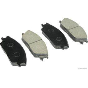 Bremsbelagsatz, Scheibenbremse Breite 1: 127,5mm, Höhe 1: 48,5mm, Dicke/Stärke 1: 15mm mit OEM-Nummer 45022SA6N50