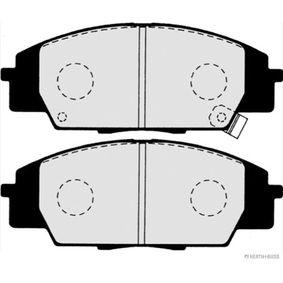 Brake Pad Set, disc brake Width 1: 135mm, Width 2 [mm]: 135mm, Height 1: 52,3mm, Height 2: 52,3mm, Thickness 1: 15,5mm, Thickness 2: 15,5mm with OEM Number 45022-S2A-E50