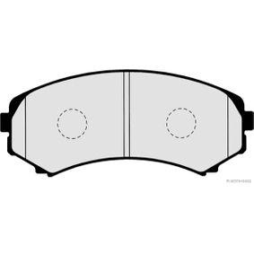 Brake Pad Set, disc brake Article № J3605038 £ 150,00