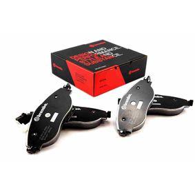 High Performance Brake Pad Set with OEM Number 5Q0 698 151 K