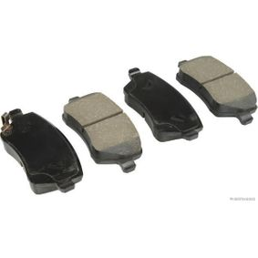 Brake Pad Set, disc brake Width 1: 116,5mm, Width 2 [mm]: 116,5mm, Height 1: 52,2mm, Height 2: 52,2mm, Thickness 1: 17mm, Thickness 2: 17mm with OEM Number 55810-62J31