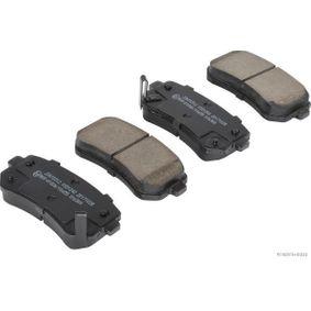2015 Kia Sportage Mk3 1.7 CRDi Brake Pad Set, disc brake J3610312