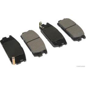 Bremsbelagsatz, Scheibenbremse Breite 2: 45,5mm, Dicke/Stärke 2: 16,2mm mit OEM-Nummer 58302-H1A00