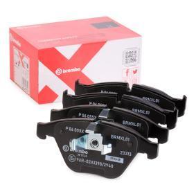 Bremsbelagsatz, Scheibenbremse Breite: 155,3mm, Höhe: 68,3mm, Dicke/Stärke: 20,3mm mit OEM-Nummer 3411 2 288 858