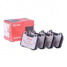Bremsbelagsatz, Scheibenbremse Breite: 109,8mm, Höhe: 69,3mm, Dicke/Stärke: 15mm mit OEM-Nummer 4254 C6