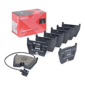 Kit de plaquettes de frein, frein à disque Largeur: 95,5mm, Hauteur: 74mm, Épaisseur: 16,4mm avec OEM numéro 8U0698151H