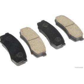Bremsbelagsatz, Scheibenbremse Breite 1: 44mm, Dicke/Stärke 1: 15,5mm mit OEM-Nummer 4605-A458