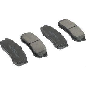 Bremsbelagsatz, Scheibenbremse Breite 1: 44mm, Dicke/Stärke 1: 15,5mm mit OEM-Nummer 04466-60090