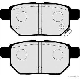Brake Pad Set, disc brake Article № J3612033 £ 140,00