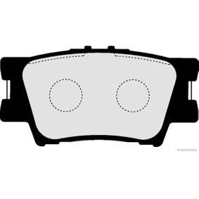 Bremsbelagsatz, Scheibenbremse Breite 1: 49,2mm, Dicke/Stärke 1: 15mm mit OEM-Nummer 04466-YZZE8