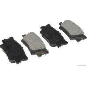 Bremsbelagsatz, Scheibenbremse Breite 1: 49,2mm, Dicke/Stärke 1: 15mm mit OEM-Nummer 04466 06 090
