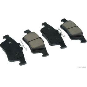 2012 Mazda 3 BL 2.0 (BLEFP) Brake Pad Set, disc brake J3613019