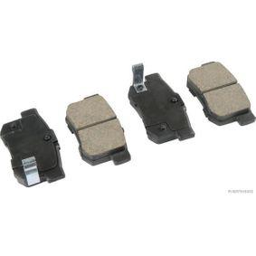 Honda Civic eu7 1.6i Bremsbeläge HERTH+BUSS JAKOPARTS J3614008 (1.6i Benzin 2002 D16W7)