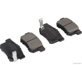 Brake Pad Set, disc brake Width 1: 88,7mm, Width 2 [mm]: 88,7mm, Height 1: 47,6mm, Height 2: 47,6mm, Thickness 1: 14,6mm, Thickness 2: 14,6mm with OEM Number 06430S9AA00