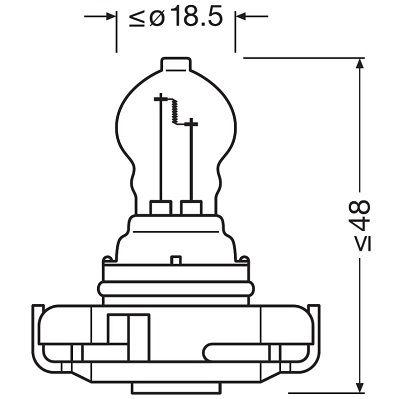Bulb, indicator OSRAM 5201 rating