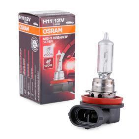 Glühlampe, Fernscheinwerfer H11, 55W, 12V 64211NBS