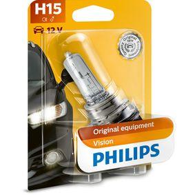Glühlampe, Fernscheinwerfer H15 12V 55/15W PGJ23t-1 12580B1 VW GOLF, TRANSPORTER, TOURAN