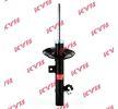 KYB Vorderachse links, Zweirohr, Gasdruck, Federbein, oben Stift 3340159