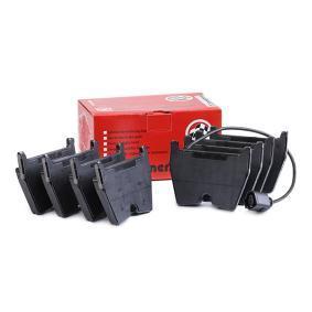 Kit de plaquettes de frein, frein à disque Largeur: 95,5mm, Hauteur: 74mm, Épaisseur: 16,4mm avec OEM numéro 8U0 698 151J