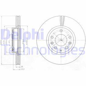 Bremsscheibe Bremsscheibendicke: 25mm, Lochanzahl: 5, Ø: 299mm mit OEM-Nummer G33Y-3325X