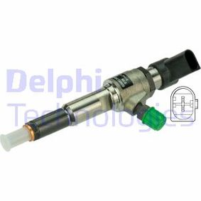 Injector met OEM Nummer 1791017