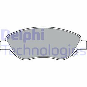 Bremsbelagsatz, Scheibenbremse Höhe: 58mm, Dicke/Stärke 2: 19mm mit OEM-Nummer 77368553
