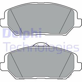 Brake Pad Set, disc brake Height 2: 59mm, Height: 59mm, Thickness 1: 20mm, Thickness 2: 20mm with OEM Number 58101-G4A10