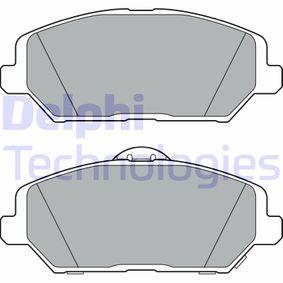 Brake Pad Set, disc brake Article № LP3385 £ 140,00