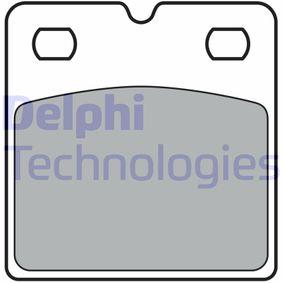 Bremsbelagsatz, Scheibenbremse Höhe: 57mm, Dicke/Stärke 2: 9mm, 8,8mm mit OEM-Nummer 1003460-00-B