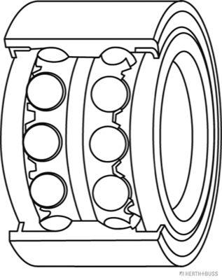 Radlager & Radlagersatz HERTH+BUSS JAKOPARTS J4701037 Bewertung
