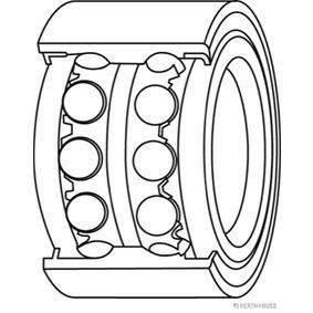 Комплект колесен лагер J4704004 25 Хечбек (RF) 2.0 iDT Г.П. 2002