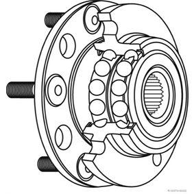 Radlagersatz Ø: 90mm, Innendurchmesser: 44mm mit OEM-Nummer 52710-4D-000