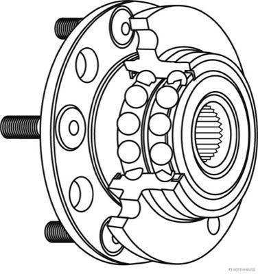 Radlager & Radlagersatz HERTH+BUSS JAKOPARTS J4710502 Bewertung
