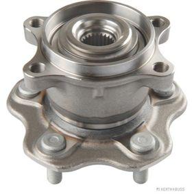 Kit cuscinetto ruota (J4711060) per per Cuscinetto Ruota NISSAN QASHQAI / QASHQAI +2 (J10, JJ10) 2.0 Trazione integrale dal Anno 02.2007 141 CV di HERTH+BUSS JAKOPARTS