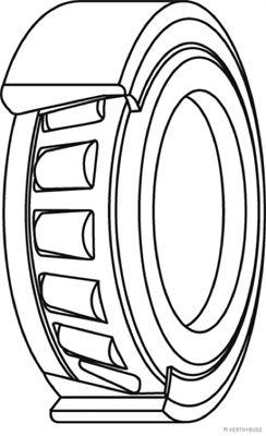Radlager & Radlagersatz HERTH+BUSS JAKOPARTS J4715008 Bewertung