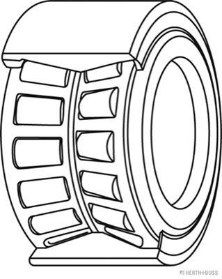 Radlager & Radlagersatz HERTH+BUSS JAKOPARTS J4715022 Bewertung