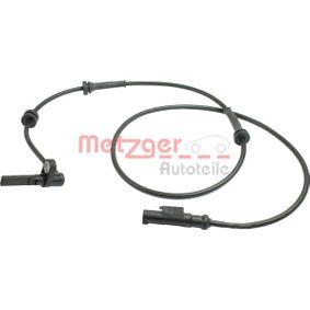 Sensor, wheel speed 0900927 PUNTO (188) 1.2 16V 80 MY 2004