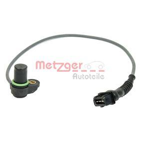 Sensor, posición arbol de levas Número de conexiones: 3 con OEM número 12 14 7 539 165